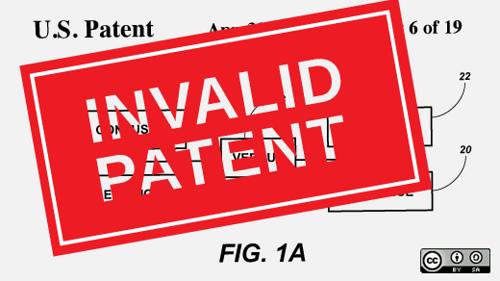 [Invalid Patent]