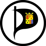 Logo Piratenpartij Hoeksche Waard