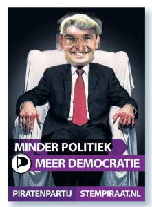 Verkiezingsposter Noord-Holland