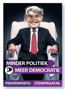 Minder politiek, meer democratie!