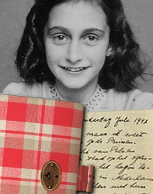 dagboek Anne Frank met foto