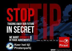Piratenpartij TTIP EU