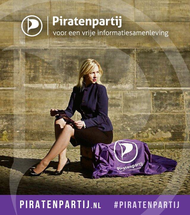 De Piratenpartij heeft een nieuwe lijsttrekker voor de aanstaande ...: https://piratenpartij.nl/ancilla-leest-nieuwe-lijsttrekker...