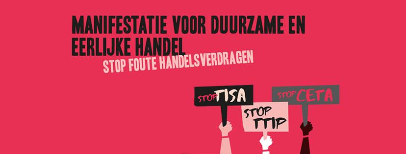 Manifestatie: Stop Foute Handelsverdragen @ Museumplein | Amsterdam | Noord-Holland | Nederland