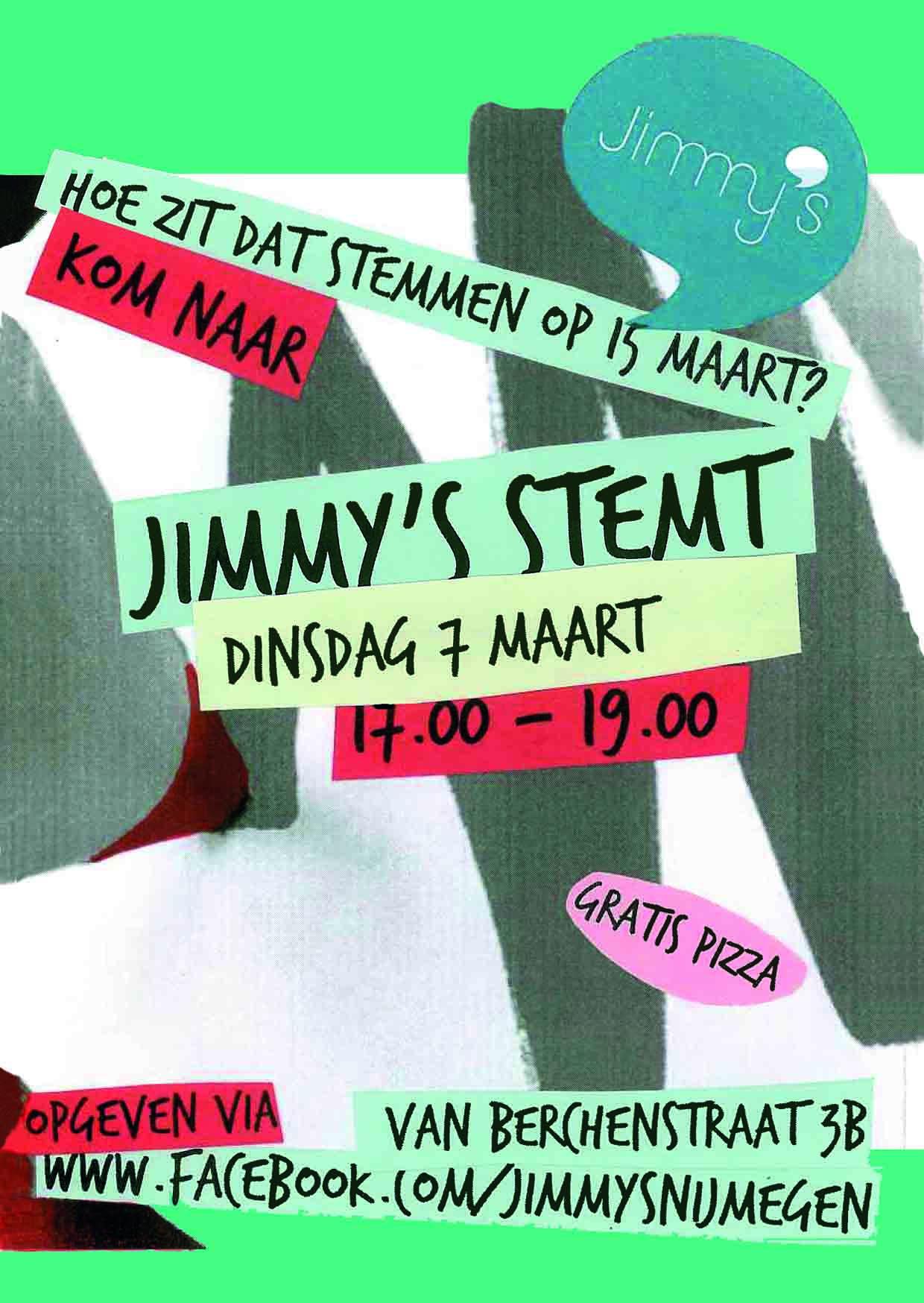 Nijmegen - Jimmy's stemt met Wiel Maessen @ Jimmy's Nijmegen   Nijmegen   Gelderland   Nederland