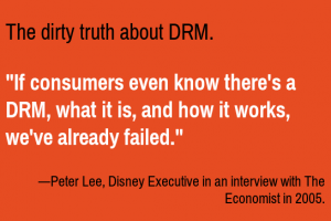Dirty Truth About DRM