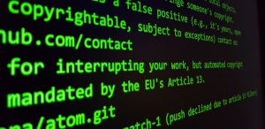 EU Copyright Directive Article 13 Censorship Machine