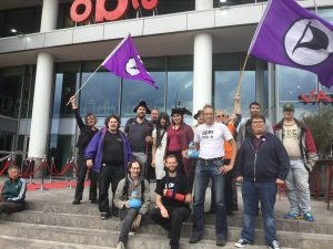 Piratenpartij Amsterdam #SaveYourInternet #CopyrightActionDay