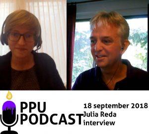 PPU Podcast 18 september 2018 Julia Reda interview