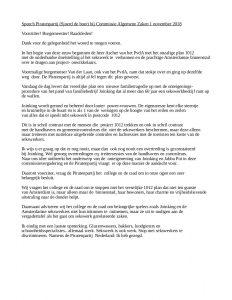 Speech 2018-11-01 Sjoerd de Boer