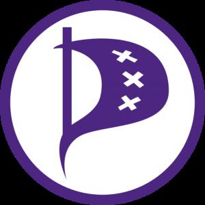 Piratenpartij Amsterdam Logo