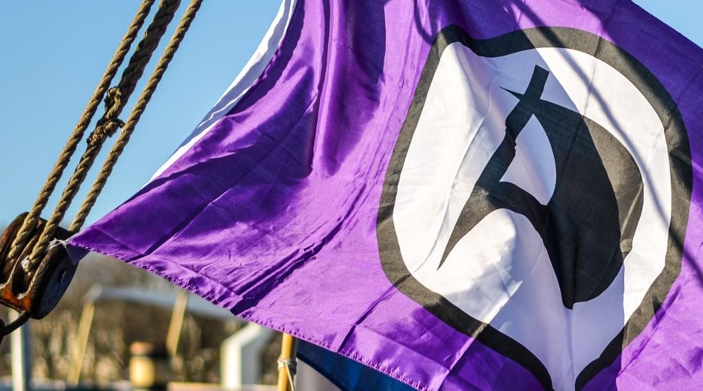Piratenpartij Vlag