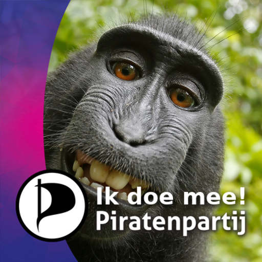 Piratenpartij Doe Mee Selfie