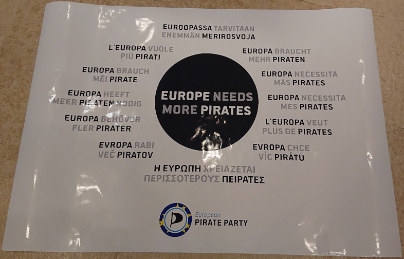 Europe Needs More Pirates
