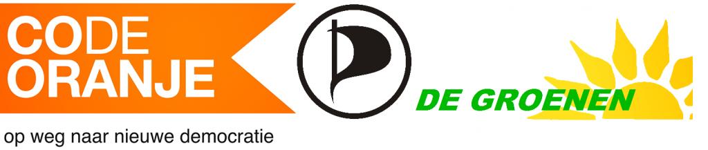 Banner Code Oranje PPNL De Groenen