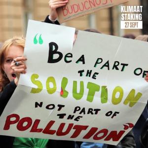 Klimaatstaking @ Koekamp, Den Haag