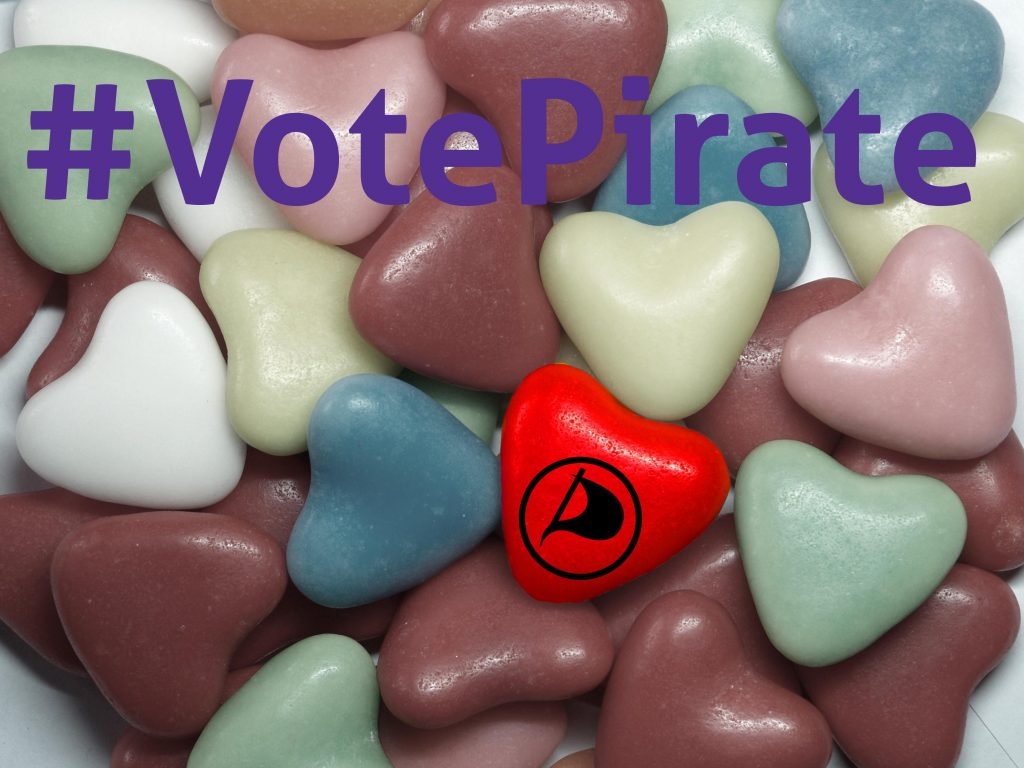 Stem Piraat!!!