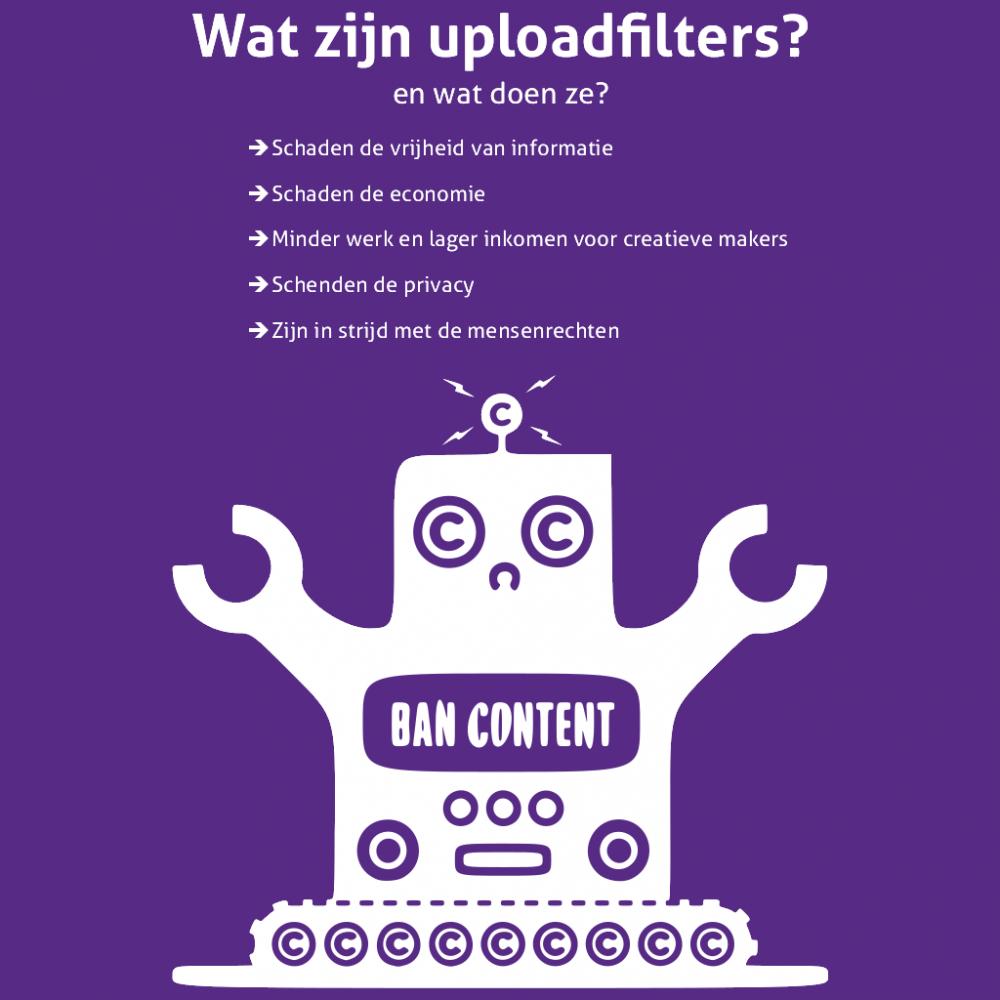 Wat zijn uploadfilters?