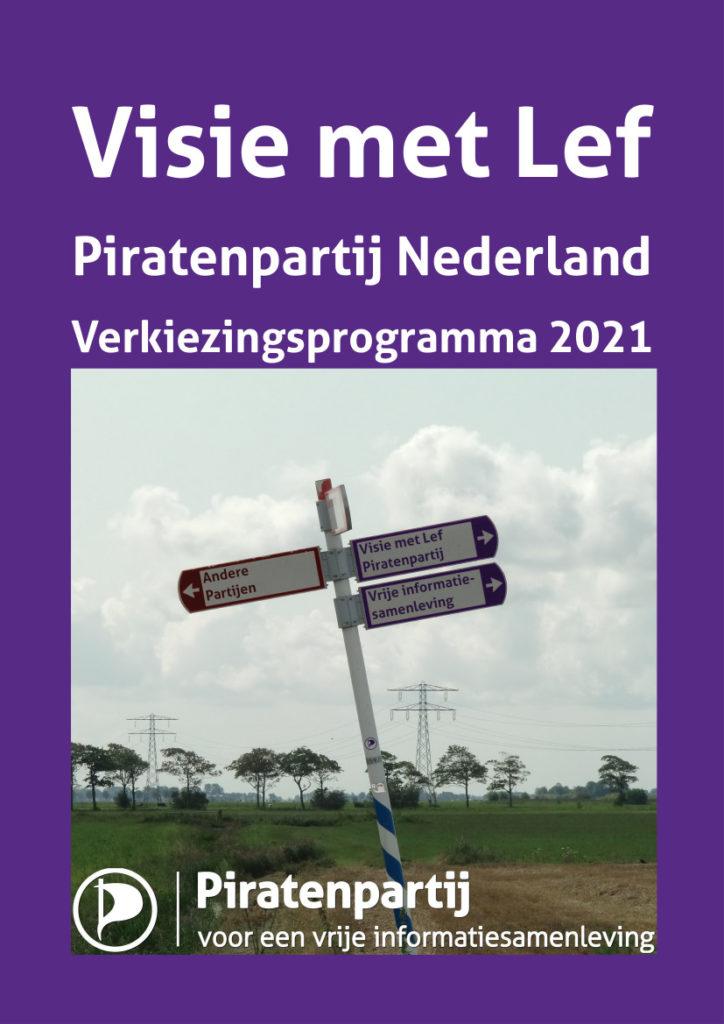 Piratenpartij verkiezingsprogramma 2021