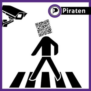 Piratenpartij QR-code